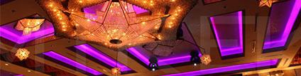 event venue lighting