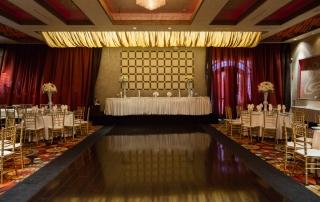 Chandelier Dining Dance Floor