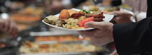 hand plate buffet