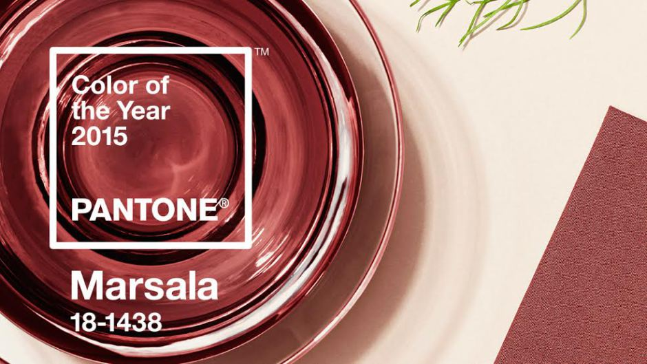 Pantone's Color of the Year is Marsala
