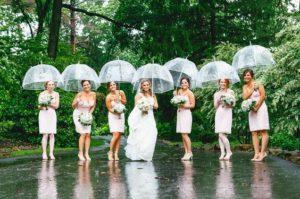 rainy wedding feature
