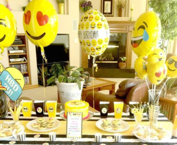 Emoji Decorations For Birthday