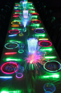 Glow Party - Sweet Sixteen Theme