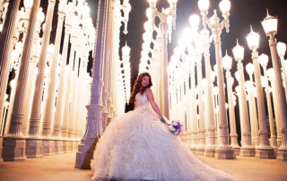Quinceañera Photoshoot Spots Los Angeles - LACMA
