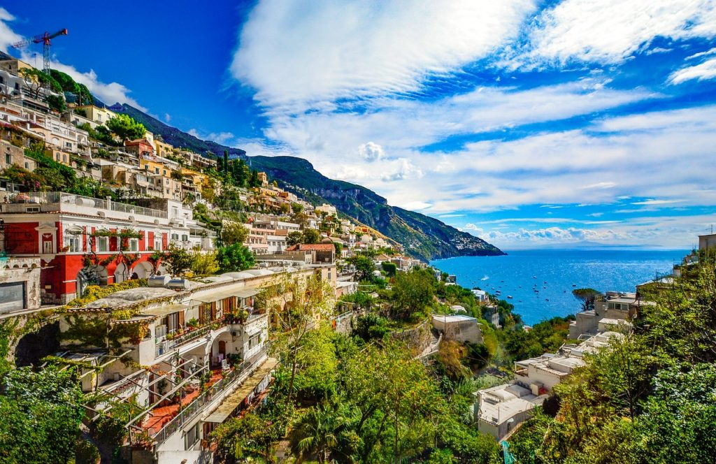 Amalfi Coast - honeymoon destinations