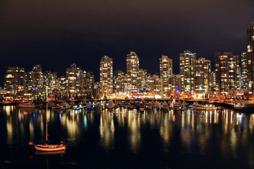 Vancouver - honeymoon destinations