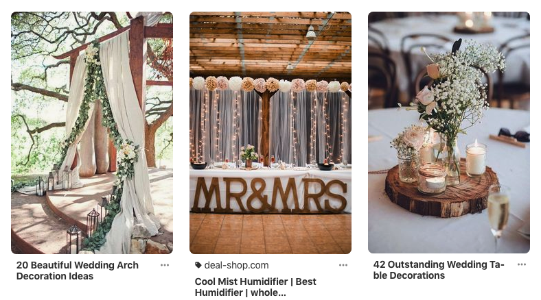 pinterest - best wedding apps