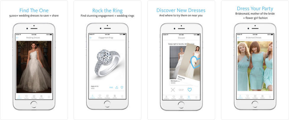 best wedding apps - wedding lookbook