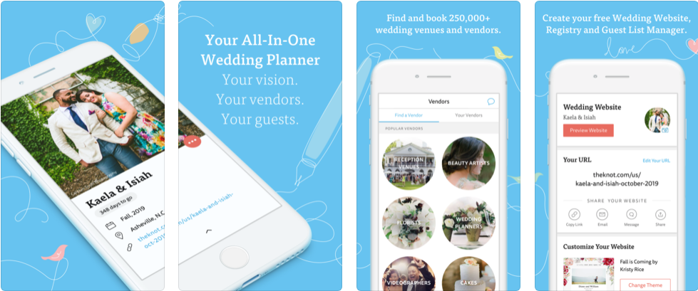 wedding planner by the knot - best wedding apps