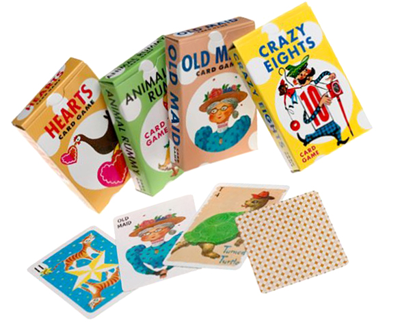 Old Fashioned Classic Card Games for Kids As Birthday Party Favors